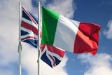 immagine lingua italiana e inglese